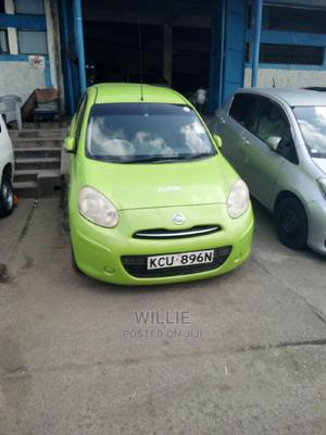 Nissan March 2012 Green   Cars for sale in Mombasa, Tudor