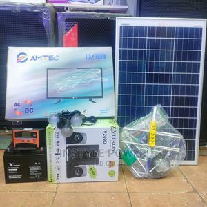 Complete Solar Panel + TV Set and Digital Aerial Anntena | Solar Energy for sale in Nairobi, Nairobi Central