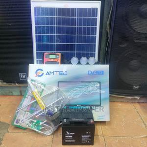 "Solar Panel,100ah Battery and 24"" Digital Tv | Solar Energy for sale in Nairobi, Nairobi Central"