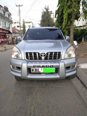 Toyota Land Cruiser Prado 2004 Silver   Cars for sale in Mombasa, Mombasa CBD