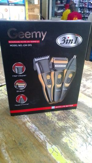 Geemy 3 in 1 Rechargeable Hair, Beard Nose Shaver/Trimmer   Tools & Accessories for sale in Nairobi, Nairobi Central