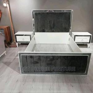 5*6 Contemporary Luxury Bed With a Pair of Night Stands   Furniture for sale in Nairobi, Kahawa