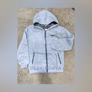 Grey Nike Zippes Hoodies   Clothing for sale in Nairobi, Nairobi Central