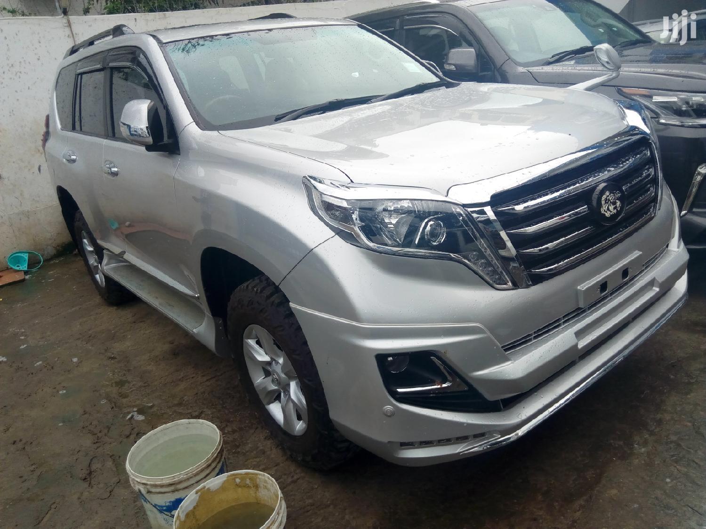 Toyota Land Cruiser Prado 2016 Silver