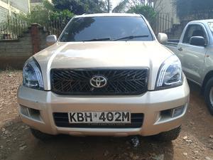 Toyota Land Cruiser Prado 2005 Gold   Cars for sale in Nairobi, Nairobi Central