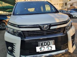 Toyota Voxy 2015 White   Cars for sale in Mombasa, Ganjoni