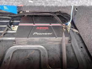 Pioneer 520w Amplifier Plus Kenwood Subwoofer   Audio & Music Equipment for sale in Nairobi, Industrial Area Nairobi