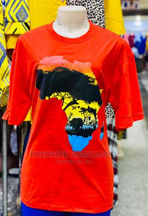 The Latest Round Necked Africa T-shirts Now Available | Clothing for sale in Migori, Central Kamagambo