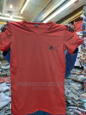 Plain V-Shaped T-Shirts Now Available Inall Sizes and Colour | Clothing for sale in Migori, Central Kamagambo