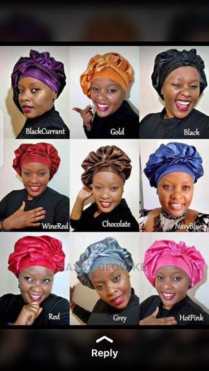 Silk/Satin Hair Bonnets | Hair Beauty for sale in Nairobi, Nairobi Central