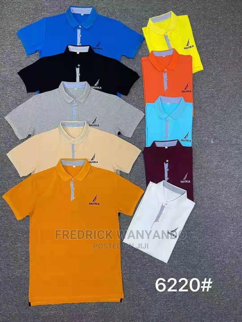 Collar T-shirts Are Now Available In All Sizes And Colour
