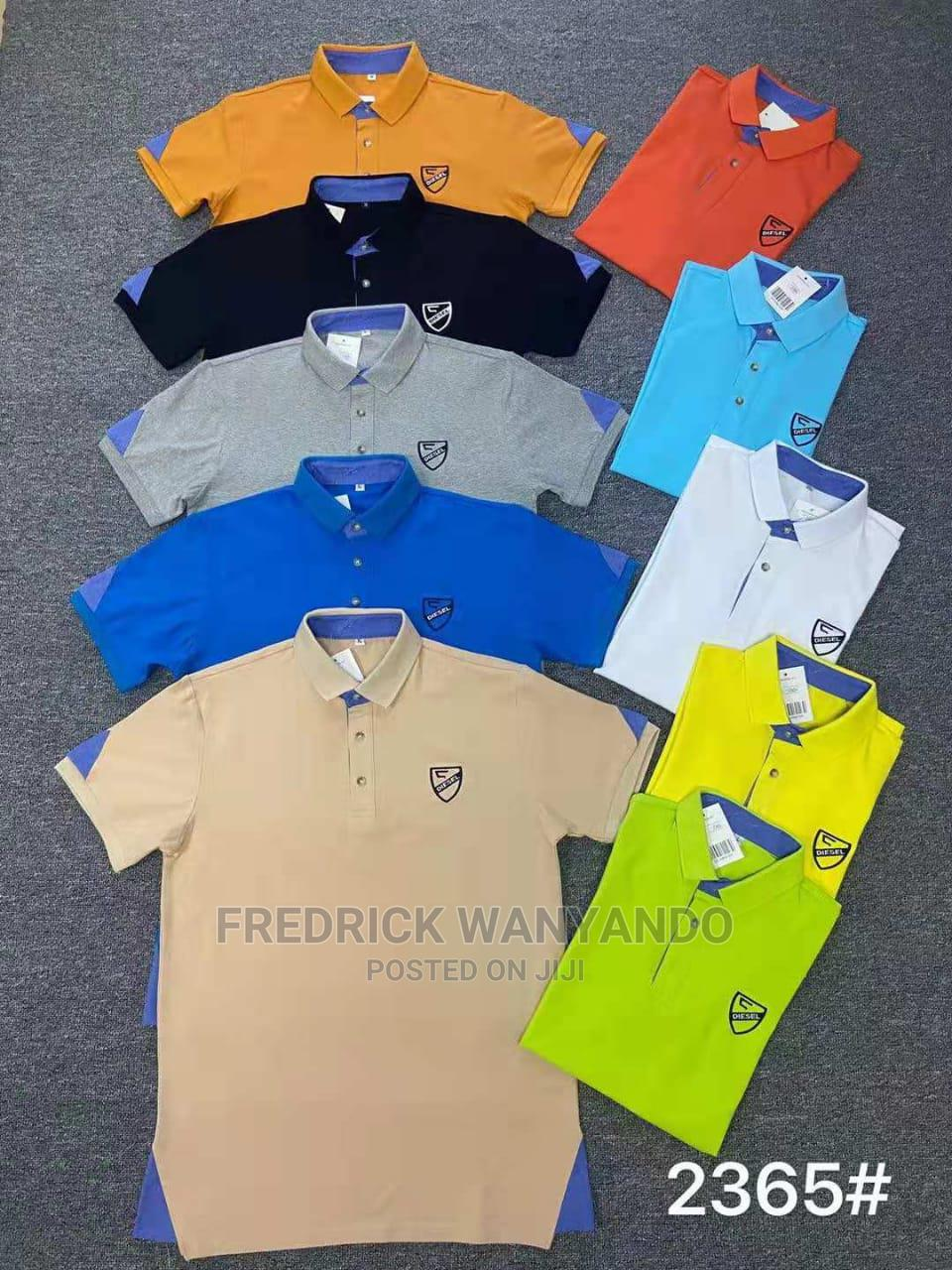 Collar T-shirts Are Now Available In All Sizes And Colour   Clothing for sale in Central Kamagambo, Migori, Kenya