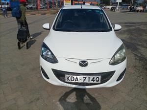 Mazda Demio 2013 White   Cars for sale in Nairobi, Nairobi Central