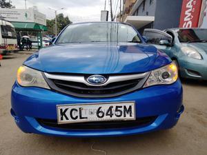 Subaru Impreza 2010 Blue | Cars for sale in Nairobi, Nairobi Central