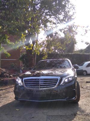 Mercedes-Benz S Class 2014 S 500 4MATIC L (V222) Black   Cars for sale in Nairobi, Nairobi Central