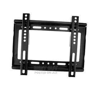 """Restocked 14""""-42"""" TV Flat Panel Wall Bracket Holder Black 