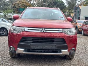 Mitsubishi Outlander 2015 Red   Cars for sale in Nairobi, Lavington