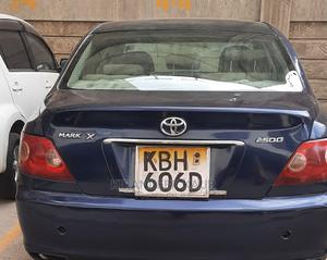 Toyota Mark X 2005 2.5 AWD Blue   Cars for sale in Nairobi, South C