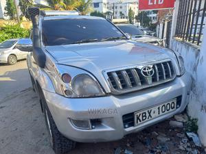 Toyota Land Cruiser Prado 2006 3.0 D-4d 5dr Silver   Cars for sale in Mombasa, Mombasa CBD