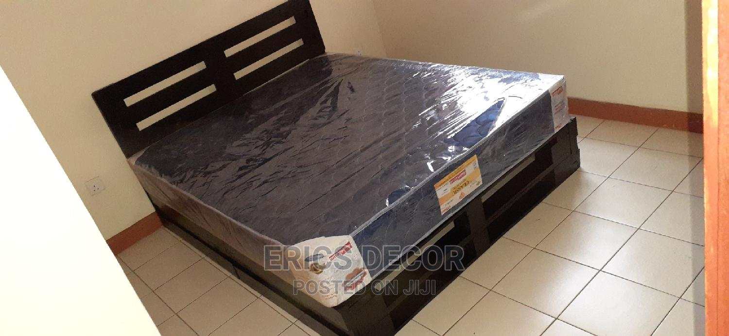 5by6 Black Pallet Bed/Pallet Bed/5by6 Pallet Bed