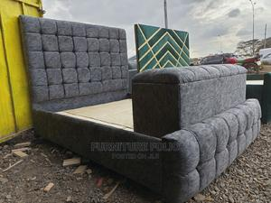 5 by 6 Chester Bed With Ottoman | Furniture for sale in Nairobi, Kahawa