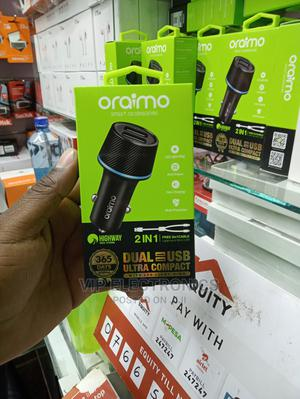 Oraimo Car Charger Fast Charger | Vehicle Parts & Accessories for sale in Nairobi, Nairobi Central