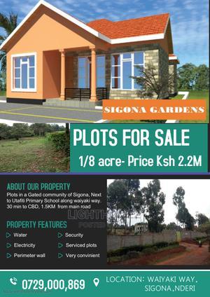 Selling Serviced Plots ,In a Gated Community ,Waiyaki Way | Land & Plots For Sale for sale in Kikuyu, Nderi