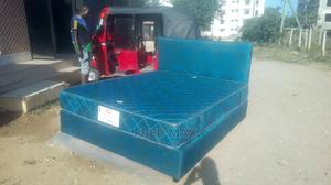 Box Bed 5by6 With Mattress | Furniture for sale in Mombasa, Shanzu