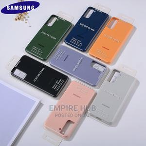 Original Samsung Galaxy S21+ Silicone Case   Accessories for Mobile Phones & Tablets for sale in Nairobi, Nairobi Central