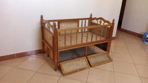 Mahogany Toddler's Bed With Mattress In A Mint Condition   Children's Furniture for sale in Mombasa, Mvita