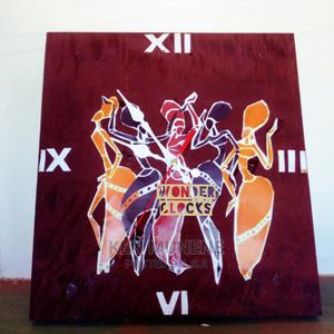 Brunnete African Dance Wooden Wall Clock | Arts & Crafts for sale in Kilifi, Mtwapa