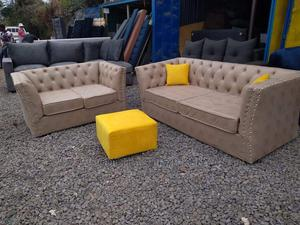 5 Seater Modern Chesterfield Couch | Furniture for sale in Nairobi, Kahawa
