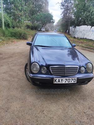 Mercedes-Benz E200 2000 Blue   Cars for sale in Nairobi, Kilimani