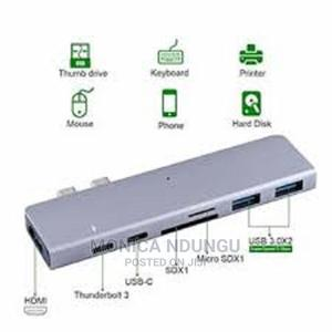 5 in 1 Type C Hub Adapter | Accessories & Supplies for Electronics for sale in Nairobi, Nairobi Central