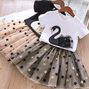 Fancy Tutu Skirt Set 1-7yrs | Children's Clothing for sale in Nairobi, Nairobi Central