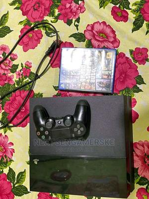 Ps4 Original Model With Gta v Game Cd   Video Game Consoles for sale in Nairobi, Nairobi Central
