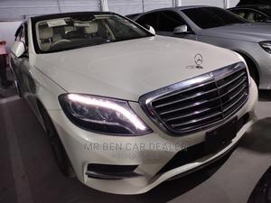 Mercedes-Benz S Class 2015 S 400 Hybrid (W222) White | Cars for sale in Mombasa, Mombasa CBD
