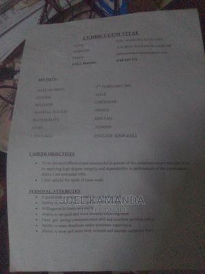 Computing & IT CV | Computing & IT CVs for sale in Nairobi, Makongeni