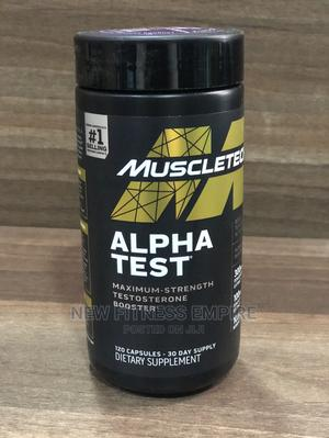 Testosterone Booster for Men | Muscletech Alphatest | Vitamins & Supplements for sale in Nairobi, Nairobi Central