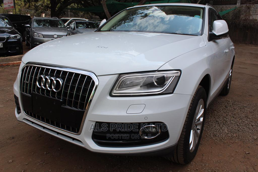 Audi Q5 2014 White