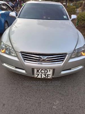 Toyota Mark X 2008 Silver   Cars for sale in Nairobi, Nairobi Central