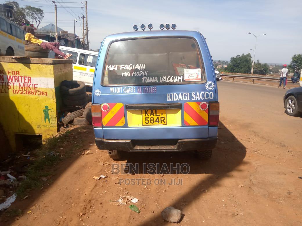 Archive: Nissan Matatu for Sale QD