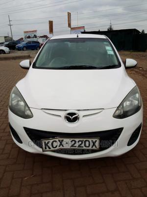 Mazda Demio 2013 White   Cars for sale in Nairobi, Komarock