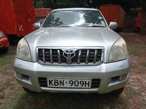 Toyota Land Cruiser Prado 2005 3.0 D-4d 5dr Silver   Cars for sale in Nairobi, Nairobi Central
