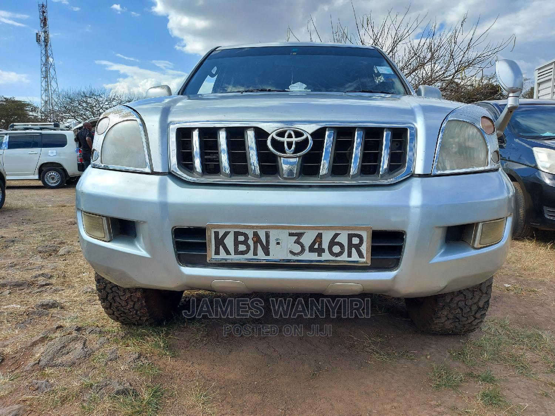 Toyota Land Cruiser Prado 2005 Silver