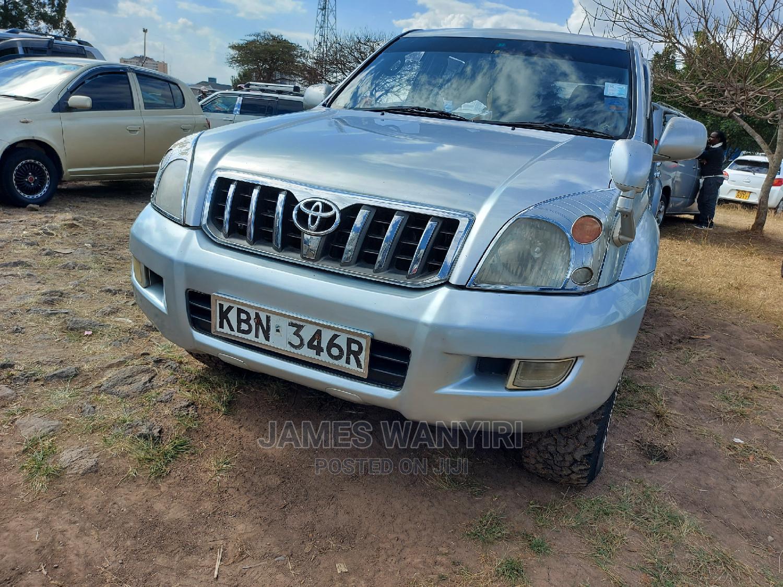 Toyota Land Cruiser Prado 2005 Silver | Cars for sale in Nairobi Central, Nairobi, Kenya