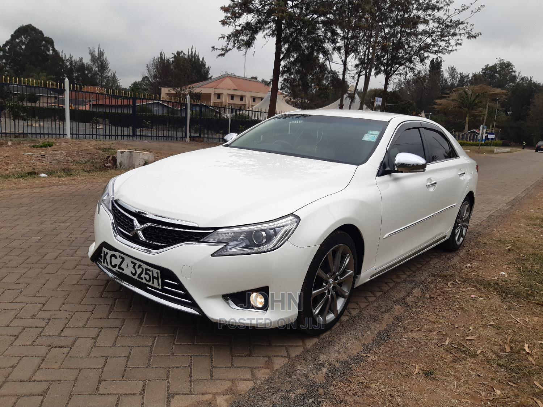 Toyota Mark X 2013 White | Cars for sale in Ridgeways, Nairobi, Kenya