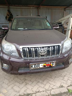 Toyota Land Cruiser Prado 2012 Purple   Cars for sale in Nairobi, Kilimani