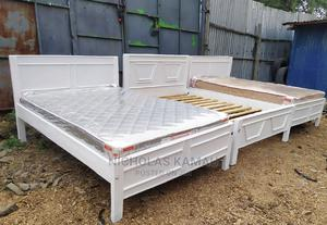 Affordable 4 by 6 White Beds | Furniture for sale in Nairobi, Embakasi