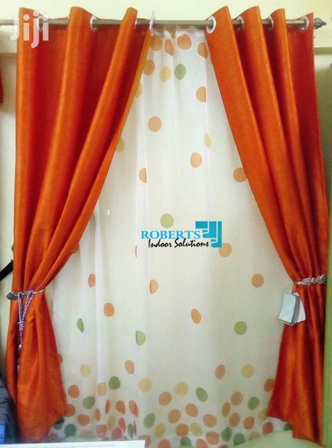 Orange Curtains And Sheer In Nairobi, Sheer Orange Curtains